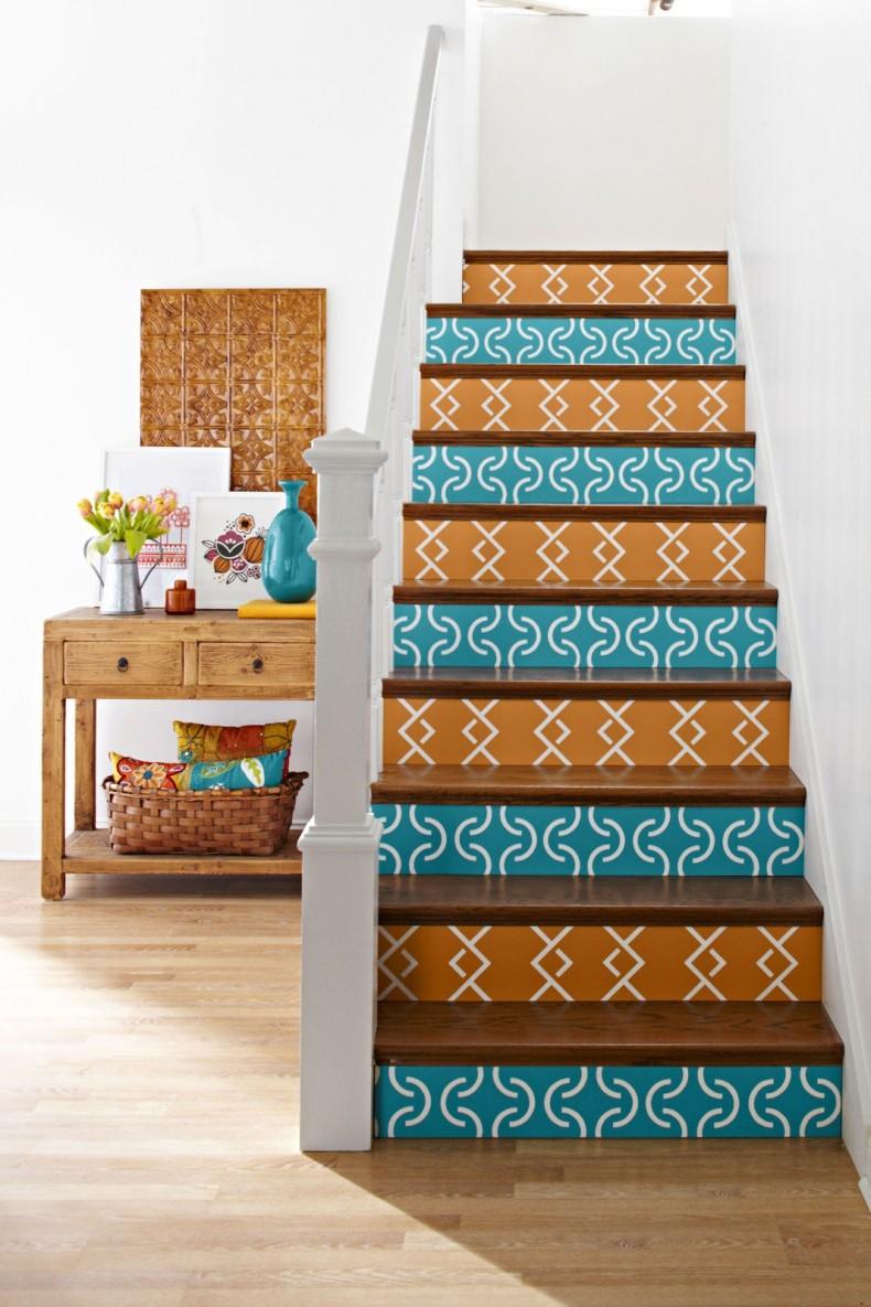 papel de parede escada